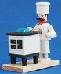 Cook at Stove Miniature Smoker by Gisbert Neuber from Germany