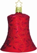 Crimson Melody Bell Ornament by Inge Glas