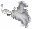 Crystal Feathers Bird Ornament Encrusted with Swarovski Crystals by Inge Glas