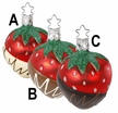 Dipped Strawberry Ornament by Inge Glas - $15 Each