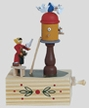 "Dovecote Music Box by Wolfgang Werner Volkskunstwerkstatt in Seiffen plays ""The Magic Flute"""