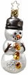 Dressed to the Nuts Snowman Ornament by Inge Glas