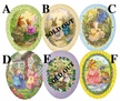 "Holly Pond Hill 15cm (5.9"") Decoupage Cardboard German Easter Eggs by Nestler - $8.50 each"