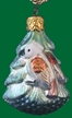 Eagle in Tree Ornament by Inge Glas