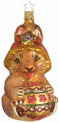 Easter Bunny Surprise Ornament by Inge Glas