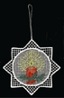 Lace Colored Candle Ornament by Stickservice Patrick Vogel in OT Hammerbrücke