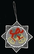 Lace Colored Bells Ornament by Stickservice Patrick Vogel in OT Hammerbrücke