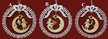 Lace Kugel Ornament with Wood Dangle by Stickservice Patrick Vogel in OT Hammerbrücke - $7 Each