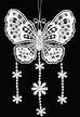 Lace Butterfly with Dangles Ornament by Stickservice Patrick Vogel in OT Hammerbrücke