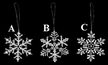 Lace Snowflake Ornament by Stickservice Patrick Vogel in OT Hammerbrücke - $3.50 Each