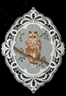 Owl Window Picture by Stickservice Patrick Vogel in OT Hammerbr�cke