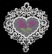 Lace Lilac Window Picture by Stickservice Patrick Vogel in OT Hammerbrücke