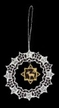 Lace Ball with Roe Deer Ornament by Stickservice Patrick Vogel in OT Hammerbr�cke