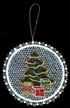 Lace Ball with Christmas Tree Ornament by Stickservice Patrick Vogel in OT Hammerbrücke