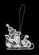 Lace Sled Ornament by Stickservice Patrick Vogel in OT Hammerbr�cke