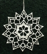 Lace Snowstar One Ornament by Stickservice Patrick Vogel in OT Hammerbr�cke