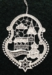 Lace Wintertime with Church Ornament by Stickservice Patrick Vogel in OT Hammerbr�cke