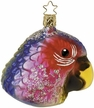 Fancy Feathers Parrot Ornament by Inge Glas