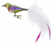 Fancy Tailfeathers Bird Ornament by Inge Glas