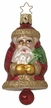 Father Christmas Bell Ornament by Inge Glas