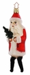 Father Christmas with Chenille Legs Ornament by Inge Glas