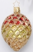 Festive Forest Pinecone Ornament by Inge Glas
