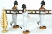 Firemen with Ladder - Set of 5