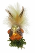 Forest Beauty Bird Ornament by Inge Glas