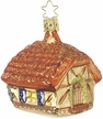 Forest Hut Ornament by Inge Glas