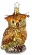 Forest Owl Ornament by Inge Glas