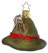 Forestry Hat Ornament by Inge Glas