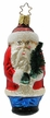 Frontier Santa with Tree Ornament by Inge Glas