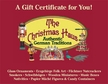 $150 Gift Certificate to The Christmas Haus