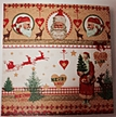 Pictures of Santa Luncheon Size Paper Napkins by Made by Paper + Design GmbH