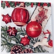 Frohe Weihnacht Luncheon Size Paper Napkins by Made by Paper + Design GmbH