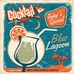 Blue Lagoon Coctail Size Paper Napkins by Made by Paper + Design GmbH