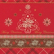 Alpine Christmas Luncheon Size Paper Napkins by Made by Paper + Design GmbH
