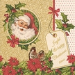 Joyful Christmas Luncheon Size Paper Napkins by Made by Paper + Design GmbH