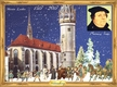 Martin Luther, 500 Years of Reformation Advent Calendar published by Stuttgart-based Richard Sellmer Verlag
