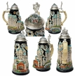 • German Beer Steins and Bar Accessories