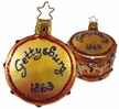 Gettysburg Drum Ornament by Inge Glas - Ours Exclusively!