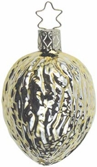 Gilded Walnut Ornament by Inge Glas