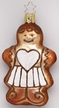 Gingerbread Girl Ornament by Inge Glas