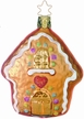 Gingerbread House Ornament by Inge Glas