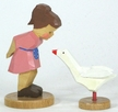 Girl with Goose