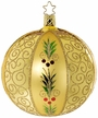 Golden Glamour, Ball Ornament by Inge Glas