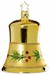 Golden Melody Bell Ornament by Inge Glas