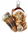 Harey Christmas Bunny Ornament by Inge Glas