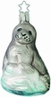 Harp Seal Ornament by Inge Glas