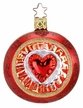 Reflective Hearts Ornament by Inge Glas